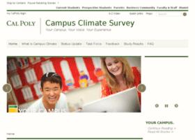 campusclimate.calpoly.edu