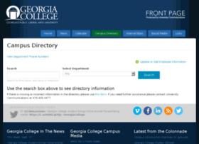 campusdirectory.gcsu.edu