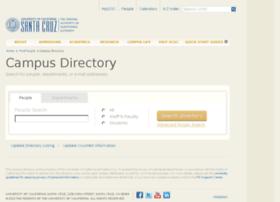 campusdirectory.ucsc.edu