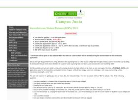 campusjunta.knowafest.com