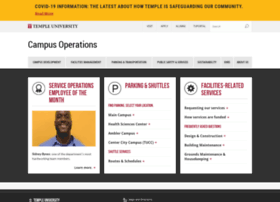 campusoperations.temple.edu