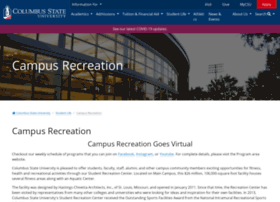 campusrec.columbusstate.edu