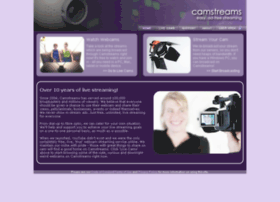 camstreams.com