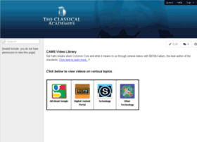 camsvideolibrary.tcawiki.com