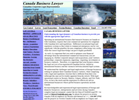 canadabusinesslawyer.com