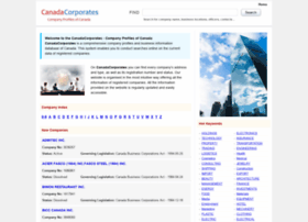 canadacorporates.com
