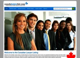 canadalawyerlist.com