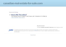canadian-real-estate-for-sale.com