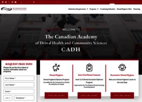 canadianacademyofdentalhygiene.ca