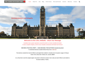 canadiananticorruptionleague.org