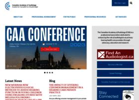 canadianaudiology.ca