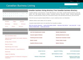 Canadianbusinesslisting.com