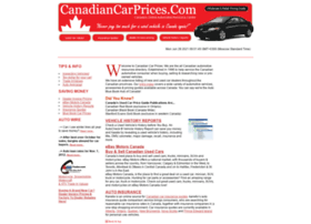 canadiancarprices.com