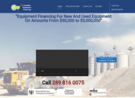 canadianequipmentfinancing.com
