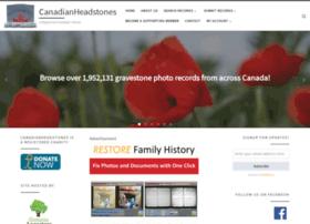 canadianheadstones.com