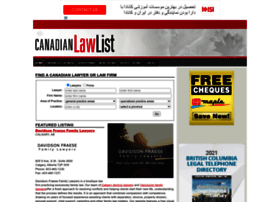canadianlawlist.com