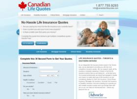 canadianlifequotes.com