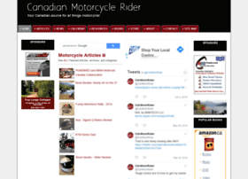 canadianmotorcyclerider.ca