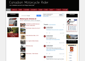 canadianmotorcyclerider.com