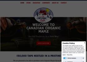 canadianorganicmaple.com