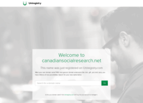 canadiansocialresearch.net