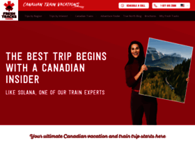 canadiantrainvacations.com