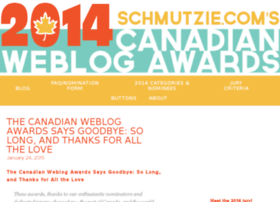 canadianweblogawards.com