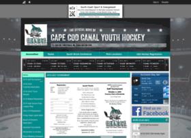 canalsharkshockey.leag1.com