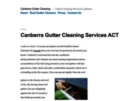 canberraguttercleaning.com.au