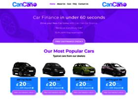 cancancarfinance.com