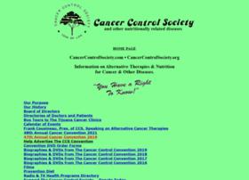 cancercontrolsociety.com