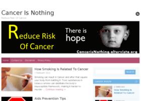 cancerisnothing.altervista.org