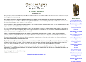 cancerlynx.com