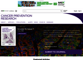cancerpreventionresearch.aacrjournals.org