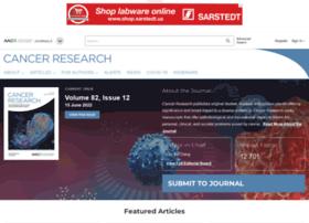 cancerres.aacrjournals.org