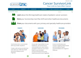 cancersurvivorlink.org