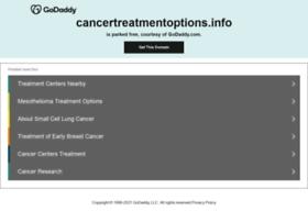 cancertreatmentoptions.info
