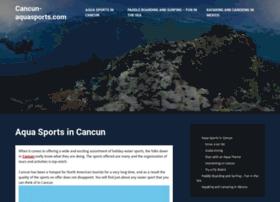 cancun-aquasports.com