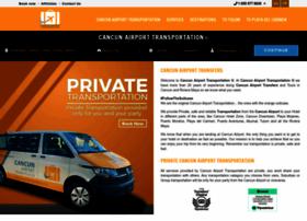 cancunairporttransportations.com