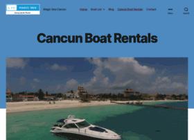 cancunboatrentals.com