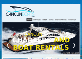 cancunboats.com