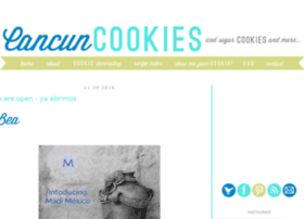 cancuncookies.com