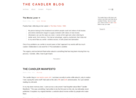 candlerblog.com