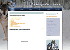 canelupocecoslovacco.net