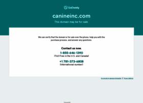 canineinc.com