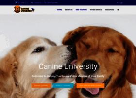 canineuniversity.com