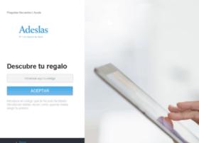 canjeaturegalo.adeslas.es