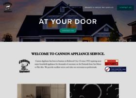 cannonappliance.com