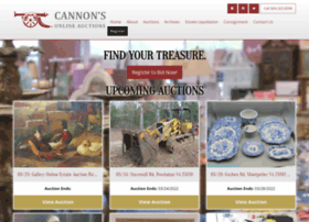 cannonsauctions.com