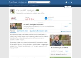 canon-mp-navigator.software.informer.com